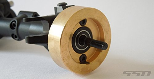Price comparison product image SSD RC Brass Weights for SCX10 II