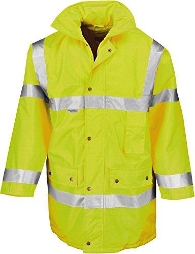 Result Jacket Xxxl Safety Yellow Fluoresent Giallo rfxrnT
