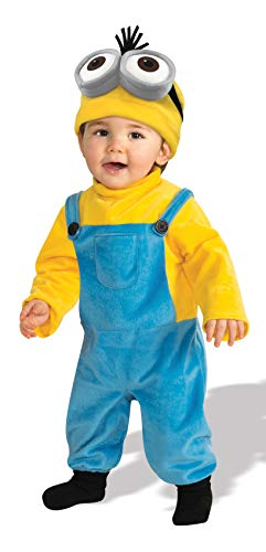 Rubie's Costume CO Baby Boys' Minion Kevin Romper Costume, Yellow, 3-4 Years -