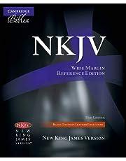 NKJV Wide-Margin Reference Black Goatskin NK746:XRME