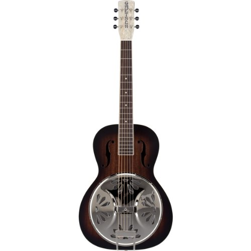 Gretsch G9220 Bobtail Round-Neck Acoustic-Electric Resonator Guitar - 2 Color Sunburst (Gretsch Electric compare prices)