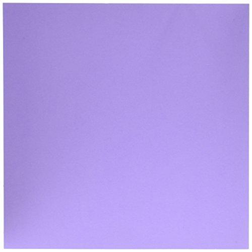 American Crafts Textured Cardstock (25 Pack), Lavender