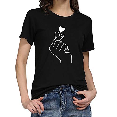 19264dc39e6 Yaseking Women Girls Fashion T-Shirt