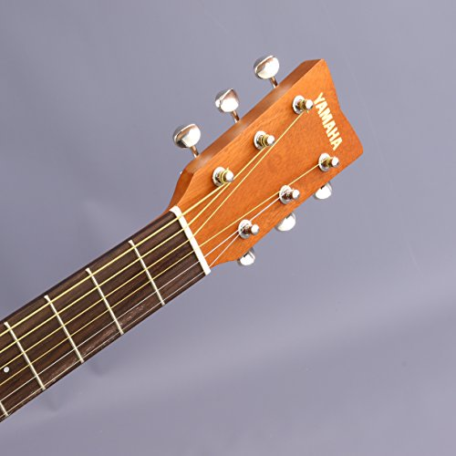 Yamaha JR1 FG Junior 3/4 Size Acoustic Guitar with Gig Bag and Legacy Accessory Bundle - Image 7
