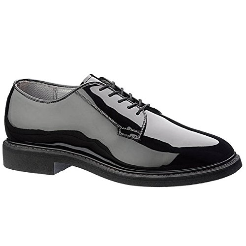 Maelstrom Men's High Glossy Oxford Shoe, Black, 9 W US