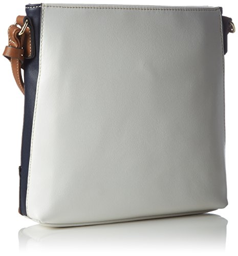 Shoulder Various weiss L Bag credihamburg Mehrfarbig Marine Women Colors EwSI0S