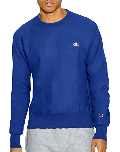 (Champion LIFE Men's Reverse Weave Sweatshirt, Surf The Web, X-Large)