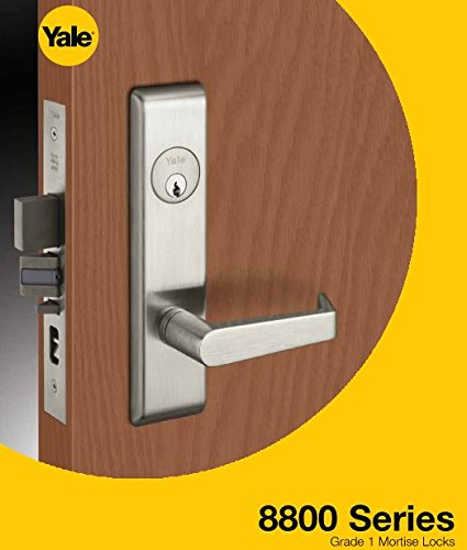 Yale 8847FL Entrance/Apartment Door Lock Mortise Lock Lever Trim