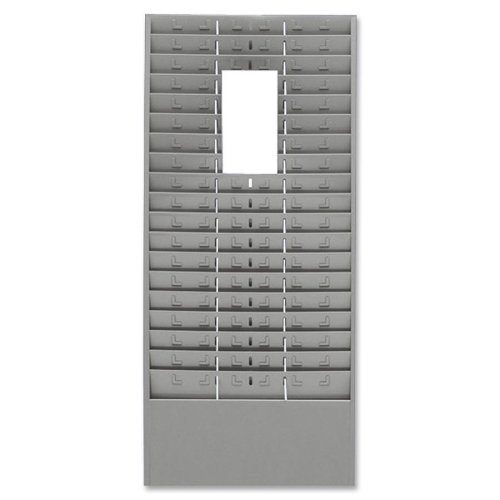 Mmf Time Card - Wholesale CASE of 5 - MMF Industries Time Card /Ticket Message Racks-Time Card/Ticket Message Rack, 18/36/54 Pockets, Gray