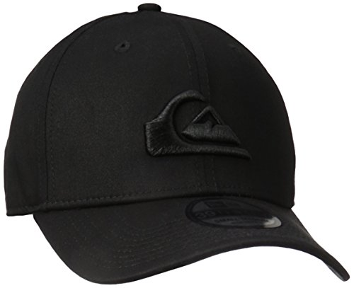 Quiksilver Men's Mountain and Wave Black Hat, Black, (Quiksilver Mens Mountain Wave)