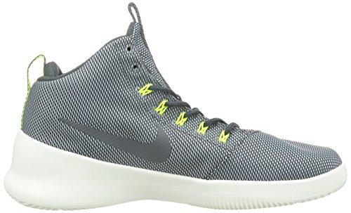 Nike Mens Hyperfr3sh Wolf Grey/Dark Grey/Black/Volt Basketball Shoe 10 Men US g46lyR2ae