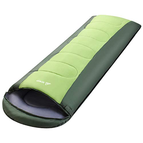 SEMOO Sleeping Bag, Portable Lightweight Water Resistant Tem