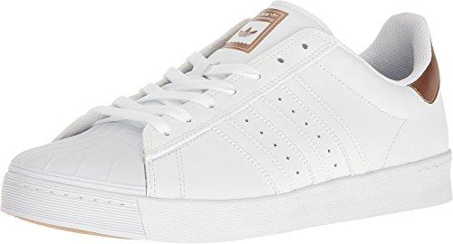 san francisco 78c18 d2b99 Galleon - Adidas Men s Superstar Vulc Adv Ftwwht coppmt ftwwht Skate Shoes  (10)