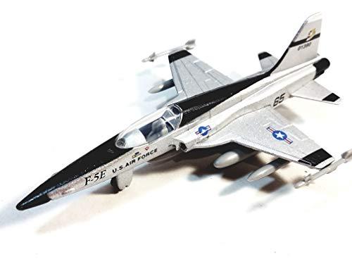 Showcast Silver Northrop F-5E Tiger II USAF Attack Jet Aircraft 1/100 Scale Diecast Plane