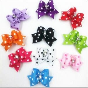20 Pcs Pet Grooming Hair Bow Ribbon Gift Headdress Flower Hair Accessories for Dog Cat Puppy by Gozier (Image #3)
