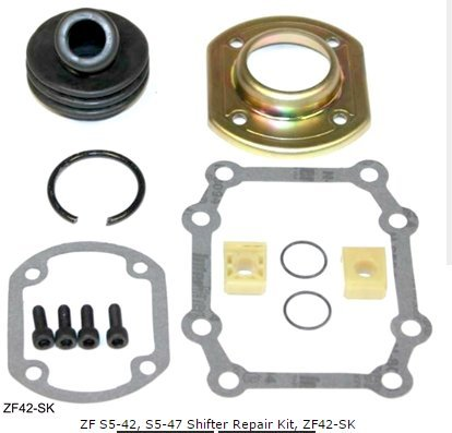 amazon com zf s5 42 s5 47 shifter repair kit zf42 sk automotive rh amazon com ZF Transmission Parts Ford ZF 6-Speed Transmission