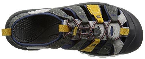 Acuto Uomo Newport Evo H2 Sandalo A Punta Chiusa Gargoyle / Corona Blu