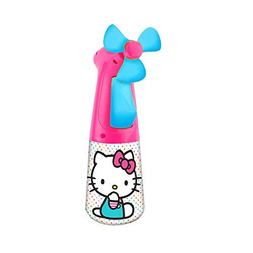 O2COOL Licensed Hello Kitty Misting Fan (Kitty Hello Fan)