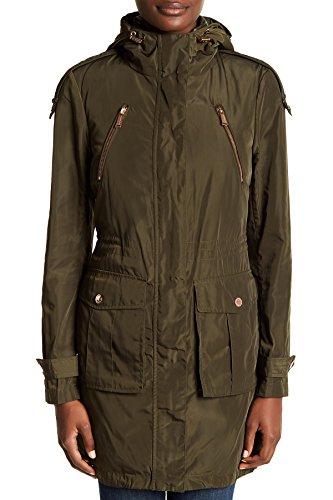 おなじみの悪意モーション(BCB ジェネレーション)BCBGeneration Women`s Anorak Down Vest Jacket Olive 女性のAnorakダウンベストジャケット(並行輸入品)
