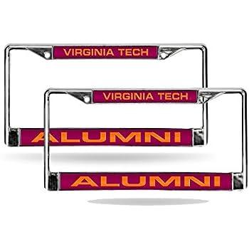Amazon Com Rico Virginia Tech Hokies Alumni Chrome Metal
