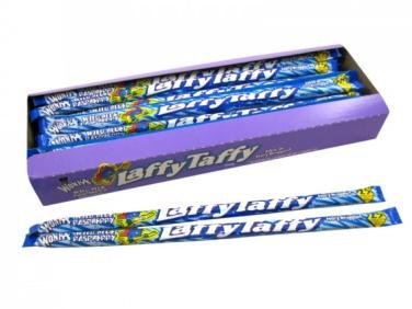 Laffy Taffy Ropes - Wild Blue Raspberry, 24 count -