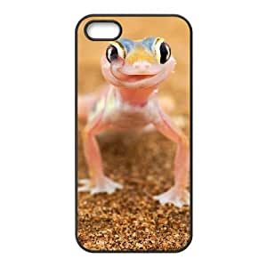 TXVNcase DIY Hard Back Durable Cover Case for Iphone 5,5S (Lovely Frog)