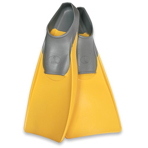 Kiefer 800100-C Thrust Swim Fins, Women's 5-7/Men's 3-5, Yellow