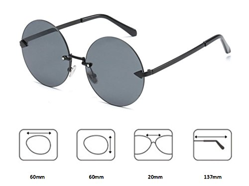 gafas rosa sol para marco y de sin Hellomiko hombres mujeres Flecha Oro polarizado gafas marco Cqx1nX