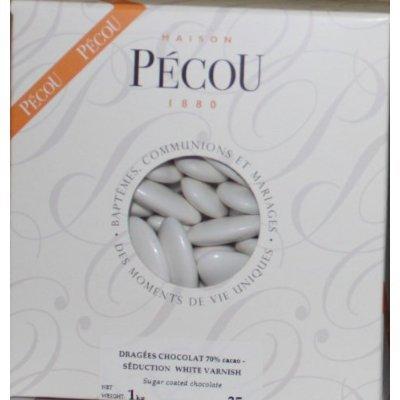 Superior White French Chocolate Dragées - 1 Pound