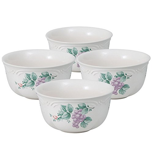 (Pfaltzgraff Grapevine Deep Soup Cereal Bowl (22-Ounce, Set of 4))