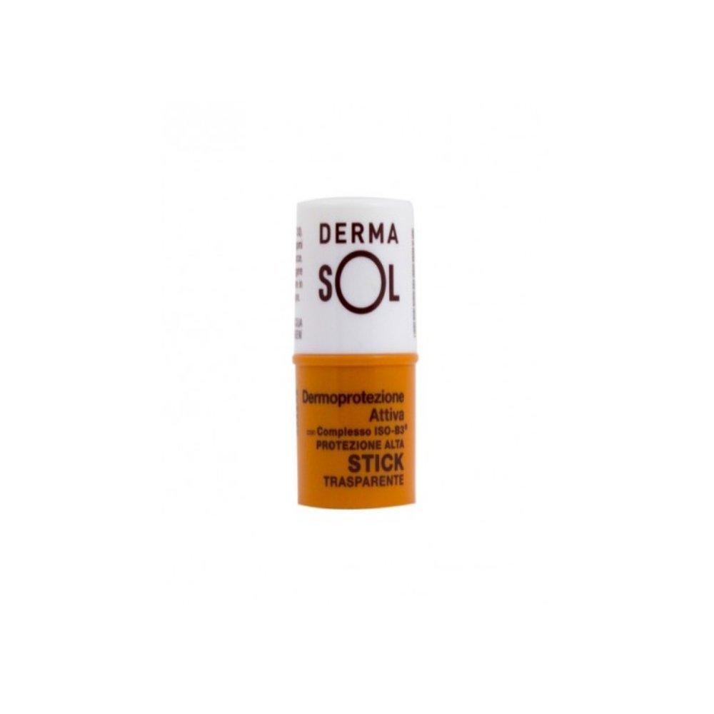 Solaires dermasol–Stick Protection Transparent SPF 30de 5ml–Résistant à l'eau MEDA