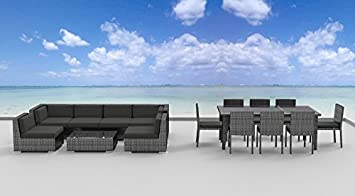 Urban Furnishing.net – 16 Piece Outdoor Dining and Sofa Sectional Patio Furniture Set