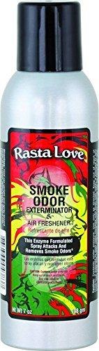 Smoke Odor Exterminator 7oz Large Spray, Rasta Love by Smoke