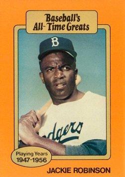 Amazoncom 1987 Hygrade Baseballs All Time Greats Orange Jackie