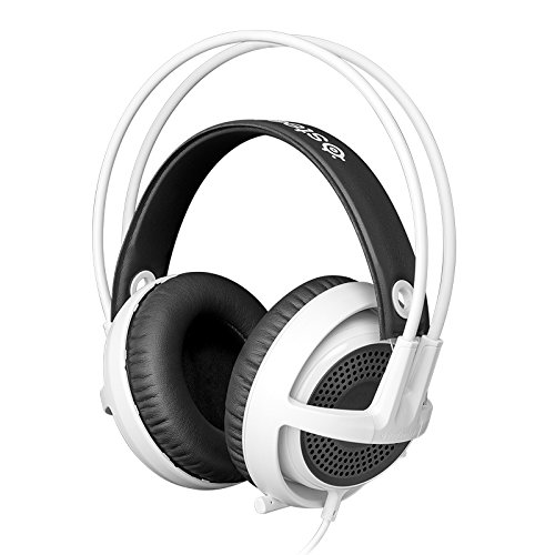 SteelSeries Siberia v3 Comfortable Gaming Headset - White by SteelSeries