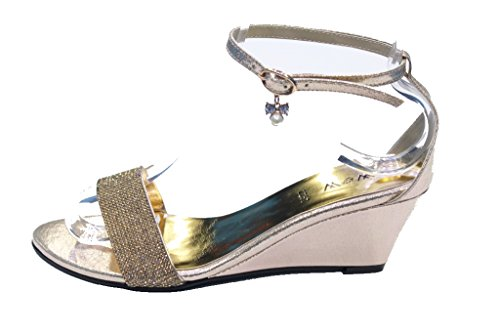 Wear Walk Sandali Uk Oro Donna oro amp; ZZq6WrTH4