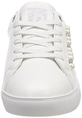 Dockers by Gerli Damen 38pd212-610500 Sneaker Weiß (Weiss 500)
