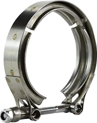 Midland 843-461 Stainless Steel V-Band Hose Clamp, Nominal Diameter, Stainless Steel, 4.61' (Pack of 100)