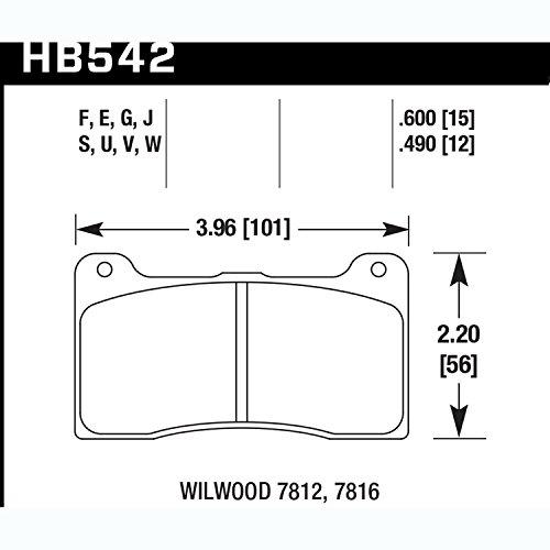 Hawk Performance HB542W.600 Auto Part by Hawk (Image #1)