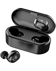 Dudios Zeus Ace TWS Earbuds, Bluetooth 5.0 Wireless Headphones Stereo in-Ear Mini Earphone (4Hrs Playtime with 800mah Rechargeable Case, Auto Pairing, One-Button Control)