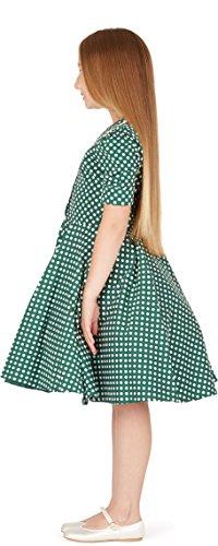 ee4cfd3b9 BlackButterfly Kids 'Sabrina' Vintage Polka Dot 50's Girls Dress ...
