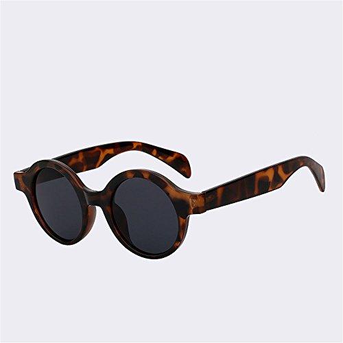 Vintage protección viajar mujer UV400 ronda SYXSN Eyewear B de moda marcha sol sombras Gafas Caminante de conduciendo exteriores B la Playa qFTt6