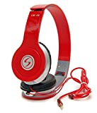 Signature Vm-46 Stereo Bass Solo Headphones For Smartphones (Red)