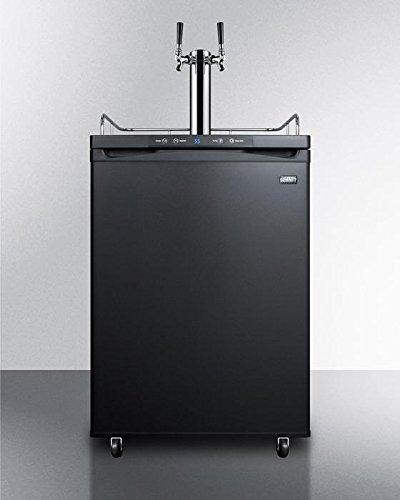 Summit SBC635MTWIN Wine Dispenser, Black (Beer Dispenser Summit)