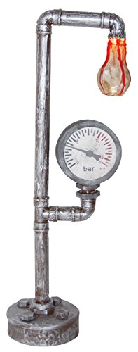 Industrial Faux Bloody Haunted Light Bulb Water Meter Halloween Prop (Water Meter Halloween Costume)