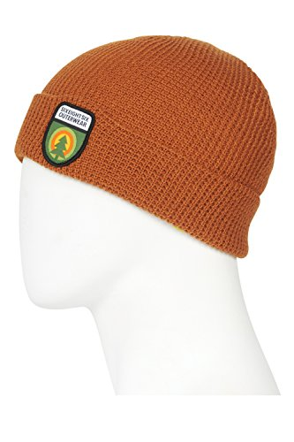 - 686 Men's Tree of Life Waffle Beanie | One-Size | Copper