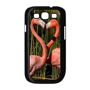 AKERCY Riverbanks flamingo romantic Bird Phone Case For Samsung Galaxy S3 I9300 [Pattern-3]
