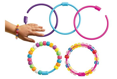 Colorations Pony Bead Bracelets - Set of 24 (Item # PBBR)