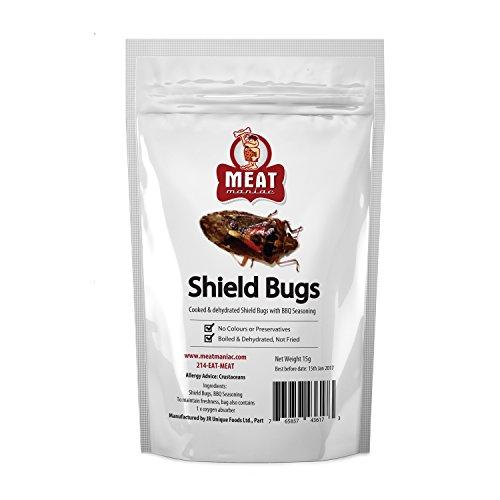 Meat Maniac BBQ Shield Bugs (Stinkbugs)