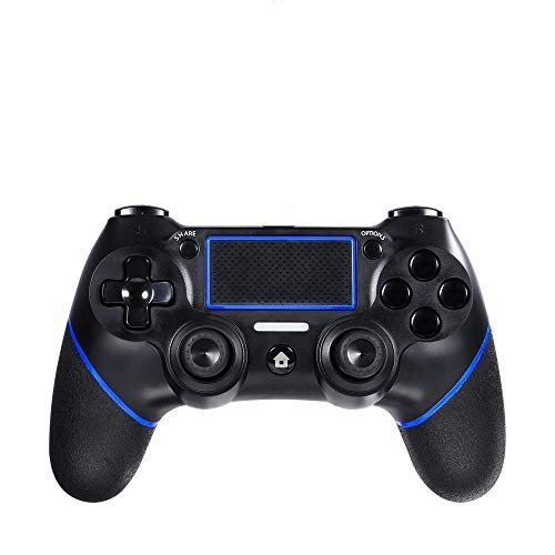 Lilyhood PS4 Wireless Controller for Playstation 4, Professional PS4 Gamepad,Touch Panel Joypad with Dual Vibration, Instantly Timely Manner to Share Joystick